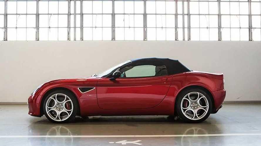 Alfa Romeo 8C Competizione et Spider par FCA Heritage