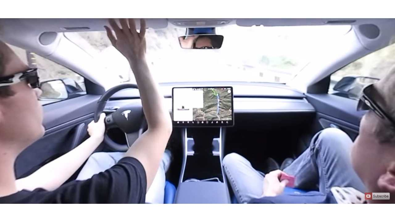 Tesla Model 3 Test Drive Video: First Time In 360 Degrees