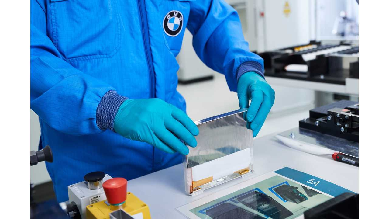 BMW Expresses Confidence In Solid-State Battery Tech