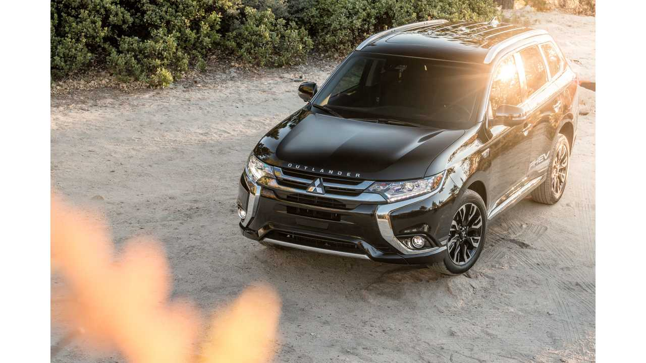 Yes, it's the 2018 Mitsubishi Outlander PHEV...and for the first time, Americans will be able to purchase one in December!