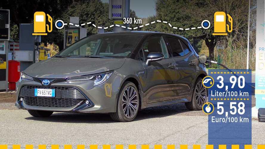 Tatsächlicher Verbrauch: Toyota Corolla 1.8 Hybrid im Test