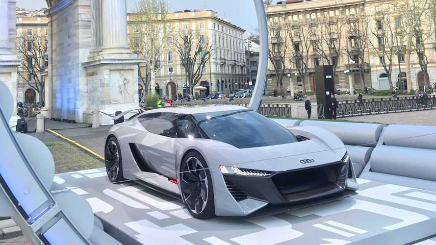 Auto elettriche, Audi pensa alla stazione di ricarica del futuro