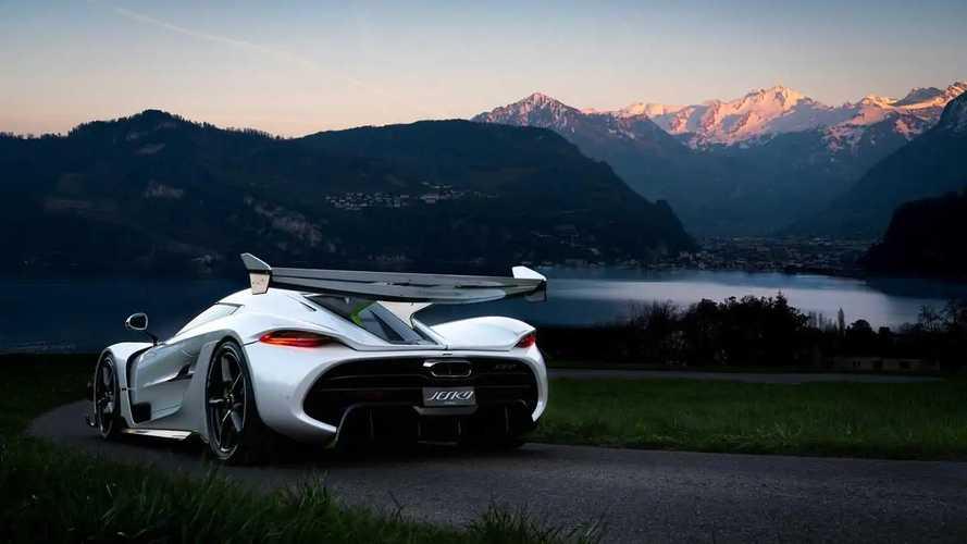 Koenigsegg Jesko İsviçre'de