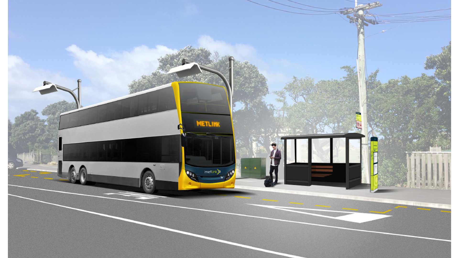 New Zealand Gets Its First 10 Electric Double Decker Buses