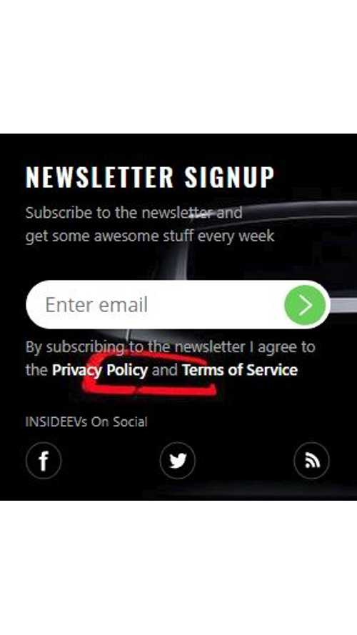 Sign Up For Our New InsideEVs Newsletter