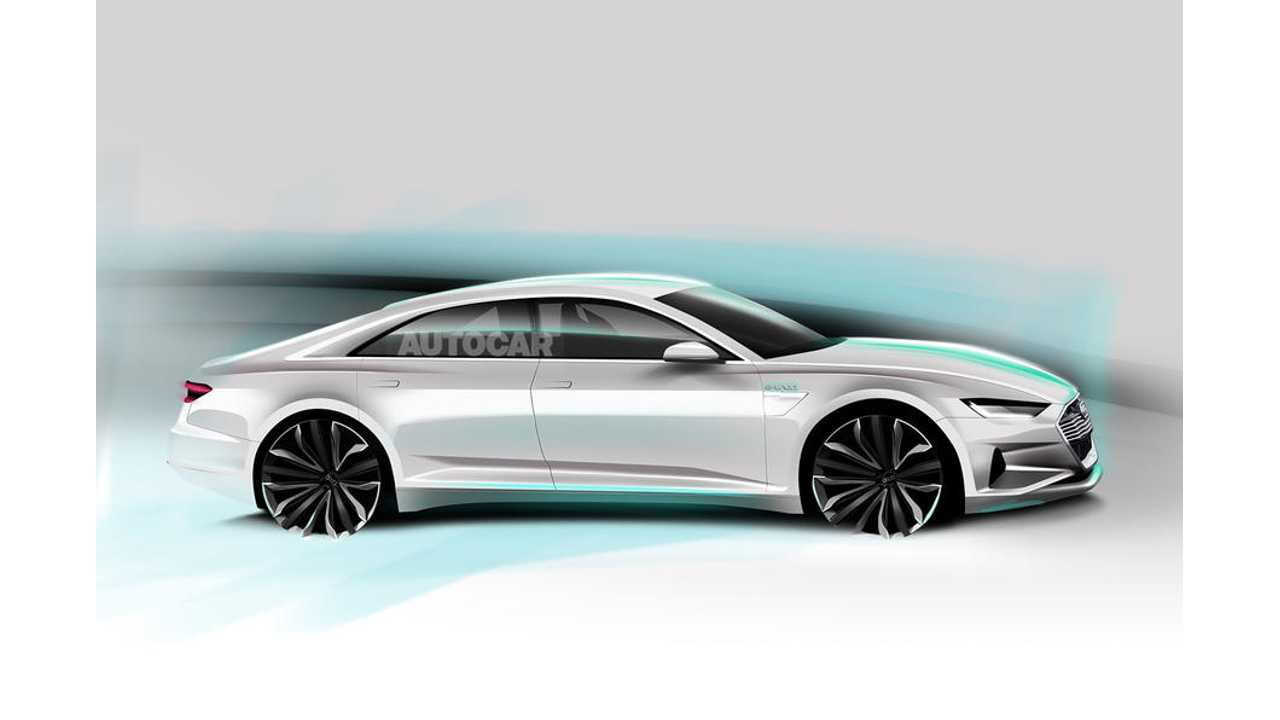 Audi A9 e-tron Electric Car To Launch By 2020