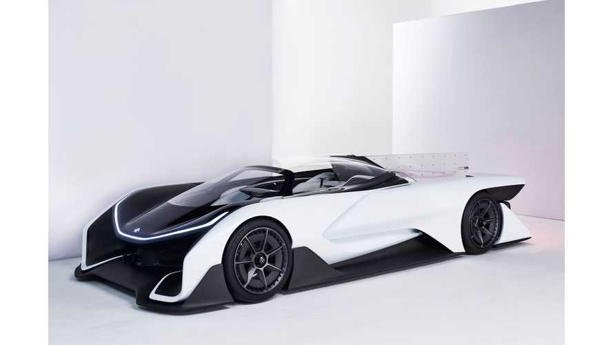 Faraday Future FFZERO1 Concept Sports A New Look From Auto China - Videos