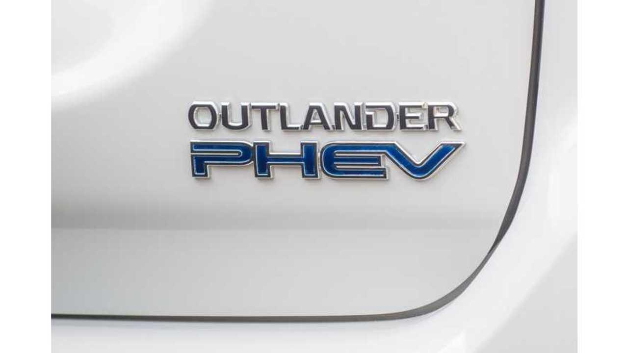Mitsubishi Outlander PHEV Sales Exceed 100,000