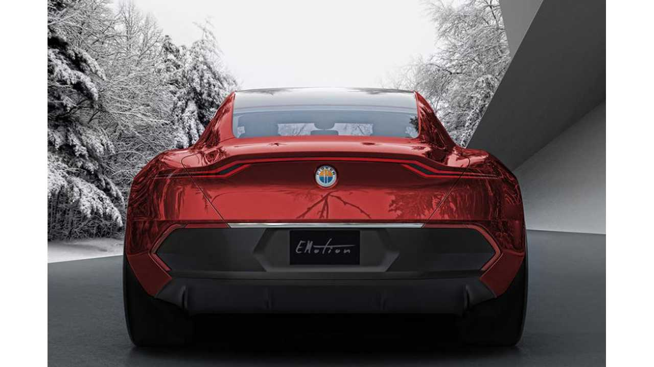 Fisker eMotion Rear End Revealed In New Image