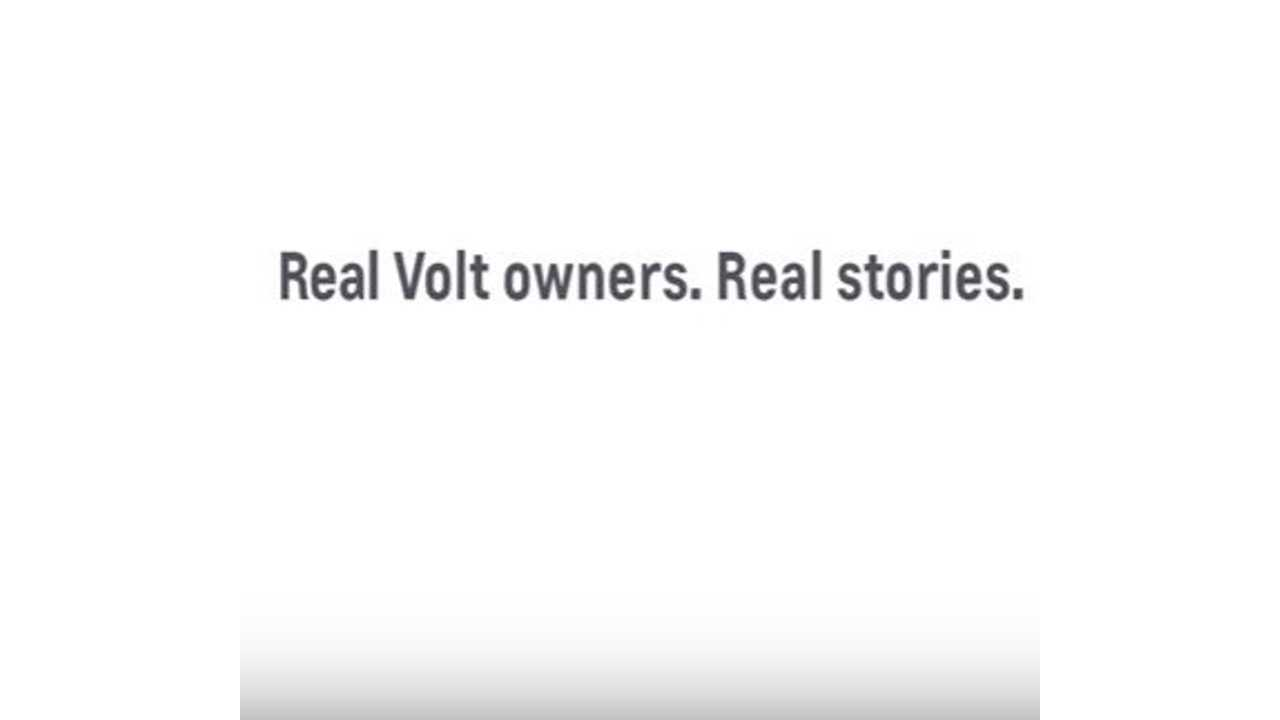 Real Chevrolet Volt Owners Tell Their Stories - Video