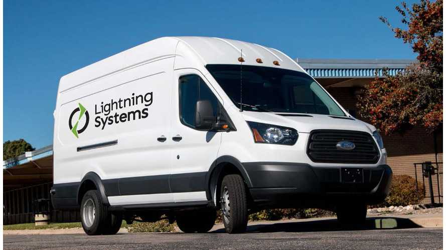 New LightningElectric Ford Transit Van Gets 150-Mile Of Range