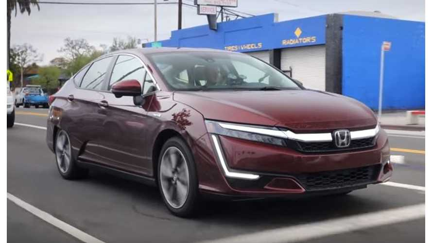 Kelley Blue Book Tests Honda Clarity Plug-In Hybrid