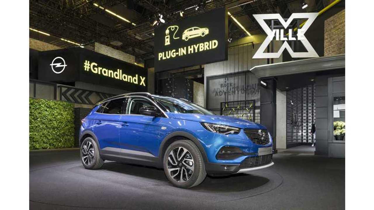 Opel/Vauxhall Grandland X PHEV To Lead PSA's Electrified Future