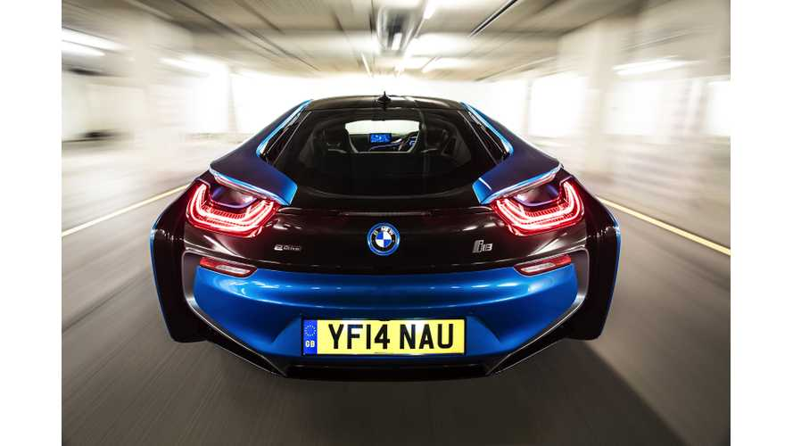 Stunning BMW i8 Photo Gallery In Protonic Blue