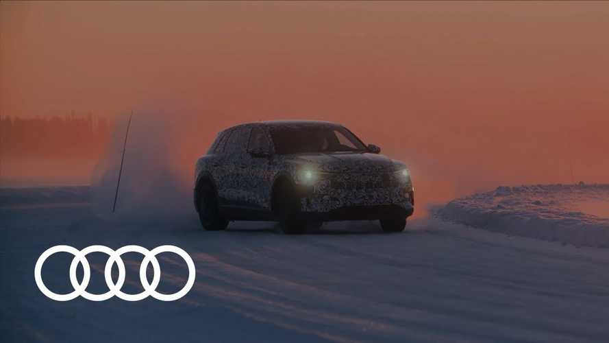 Behind The Scenes Of Audi E-Tron Development: Video