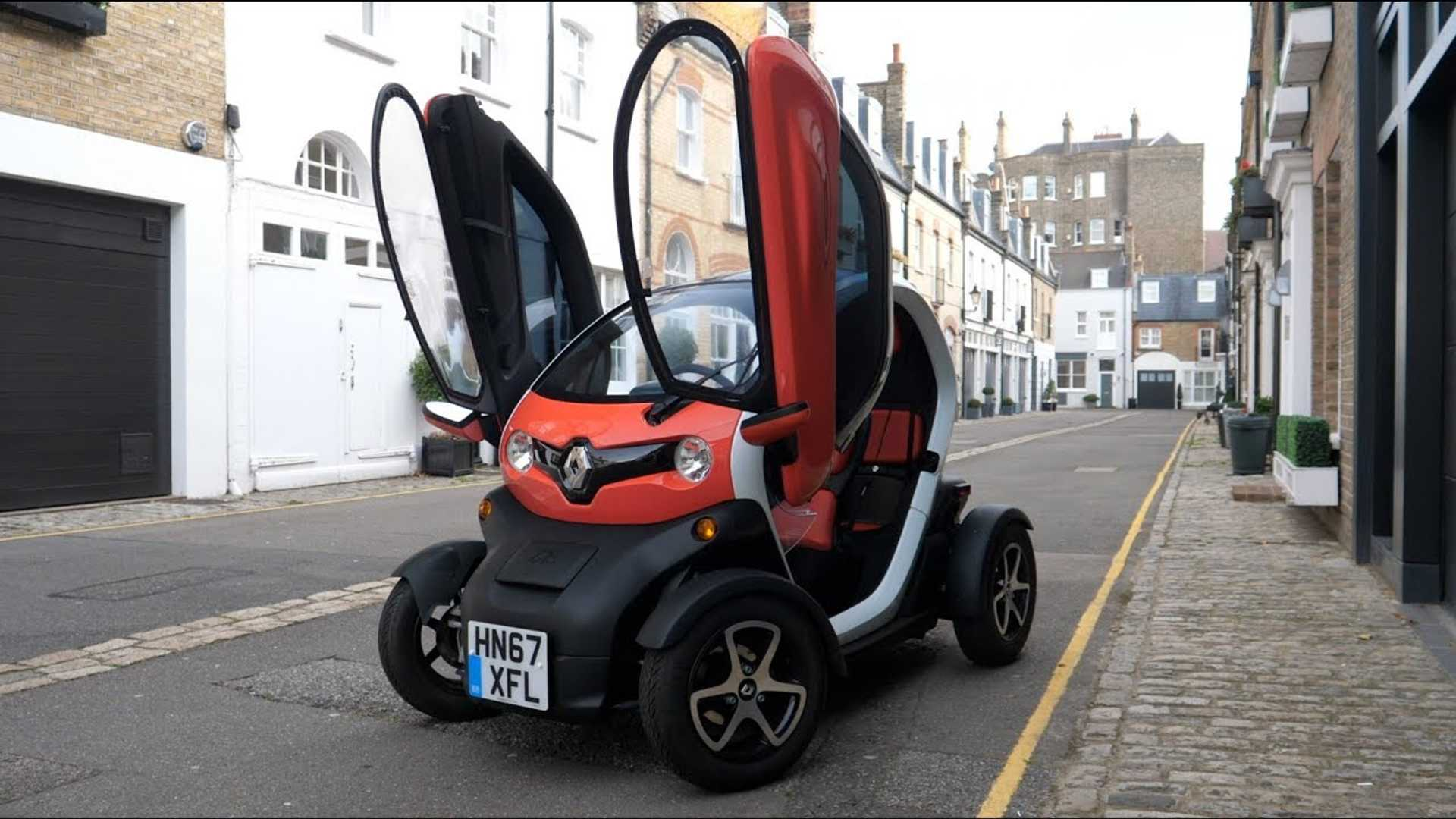Living With A Renault Twizy In Central London: Video