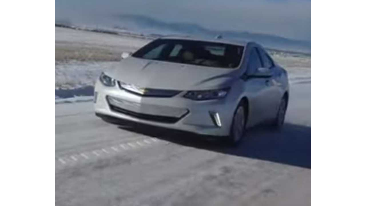 The Fast Lane Car Reviews 2016 Chevrolet Volt In The Snow - Video