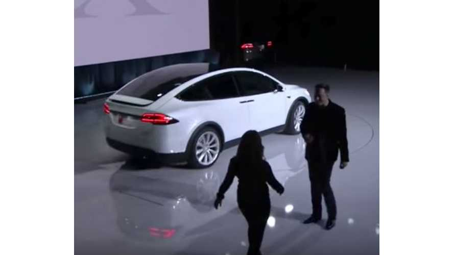 Google Co-Founder Sergey Brin Took Delivery Of Fourth Tesla Model X