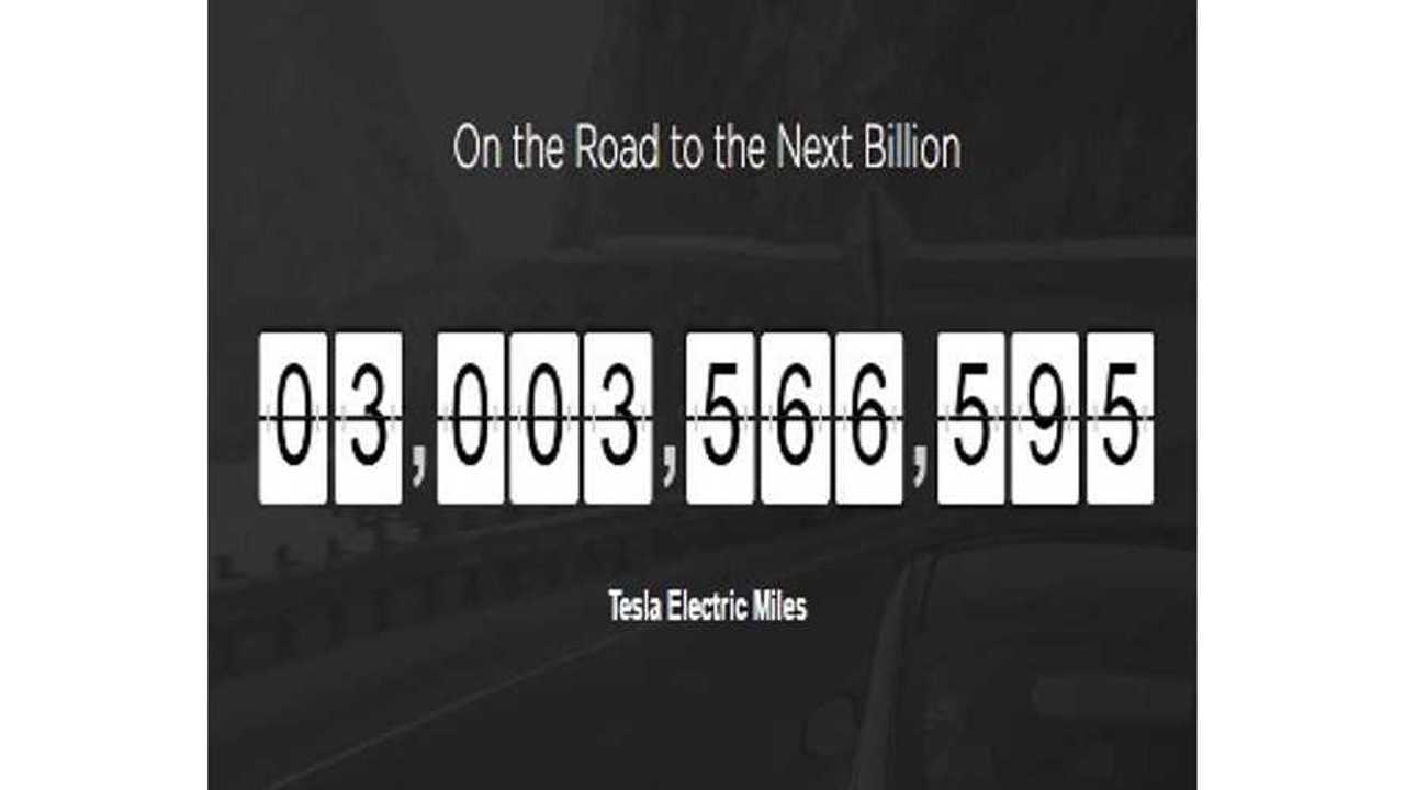 Global Tesla Fleet Surpasses 3 Billion Collective Miles Driven