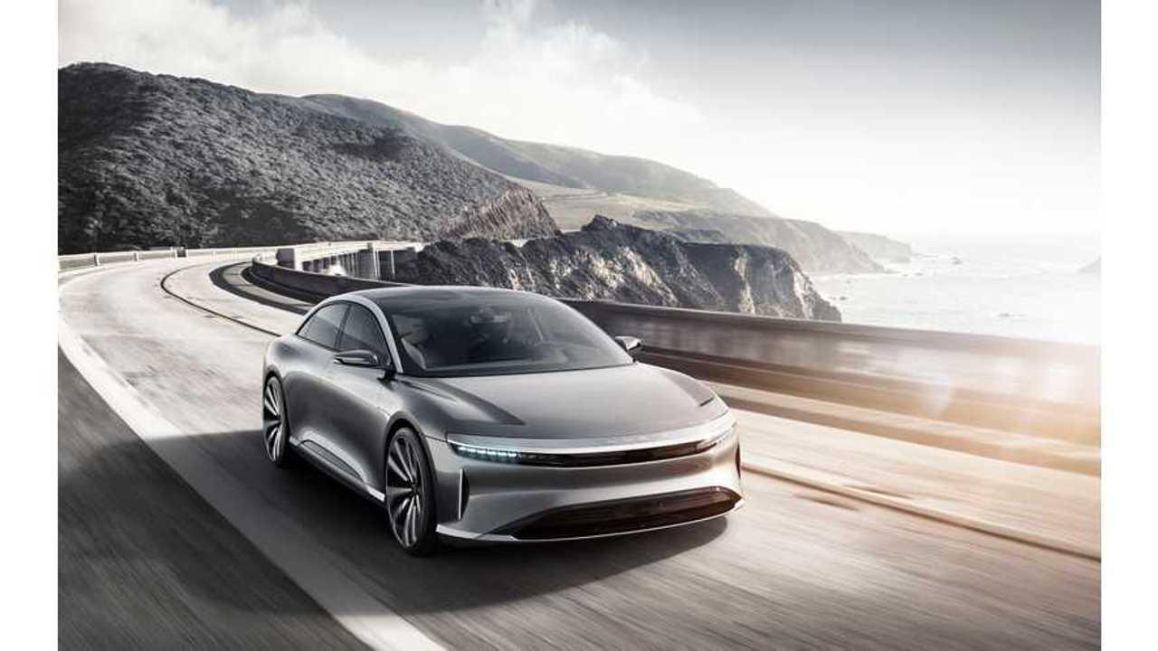 Mobileye To Provide Autonomous Vehicle Technology For Lucid EVs