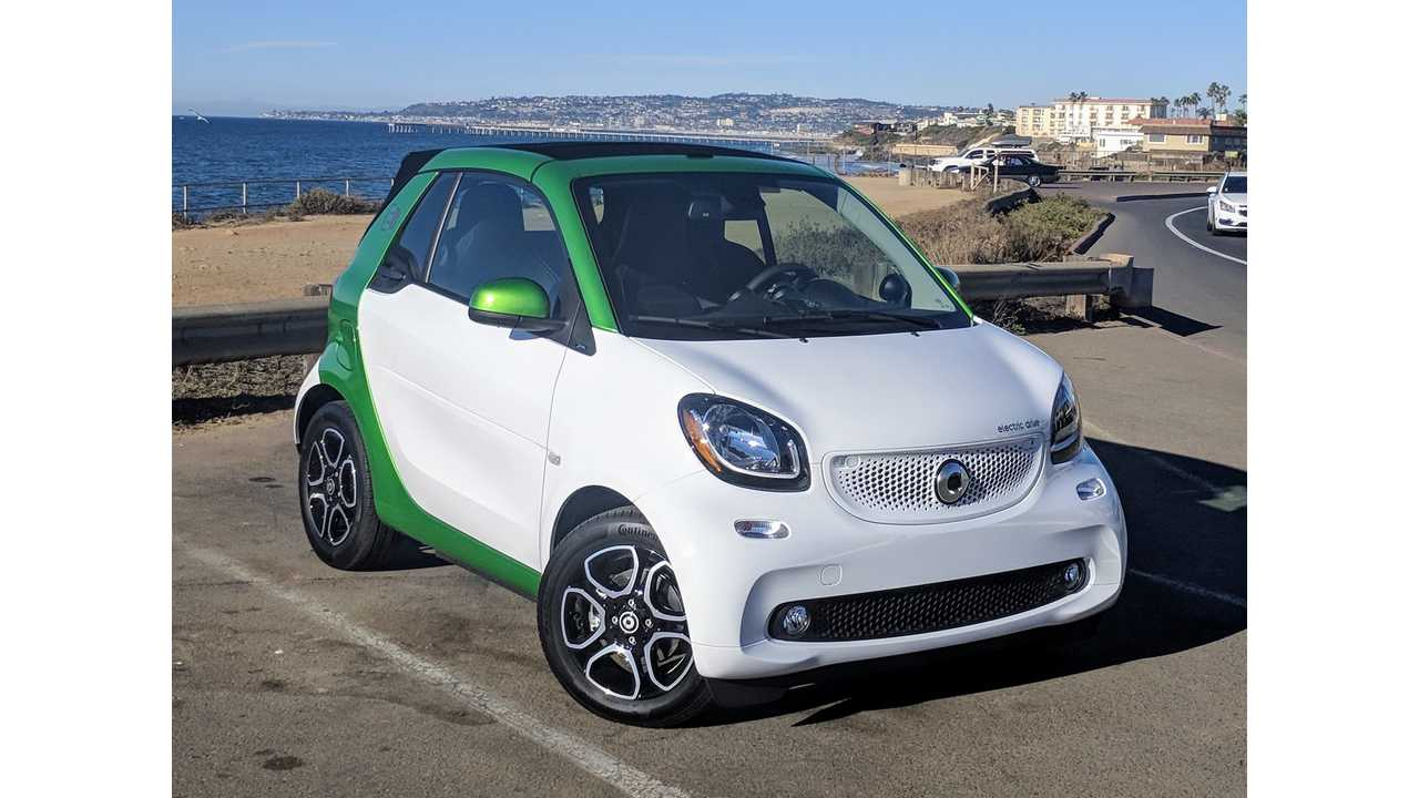 2018 Smart Fortwo Electric Drive Cabrio - Test Drive Review