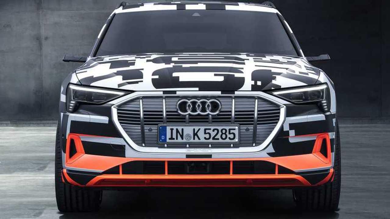 Audi E-Tron Prototypes Show Up In Geneva
