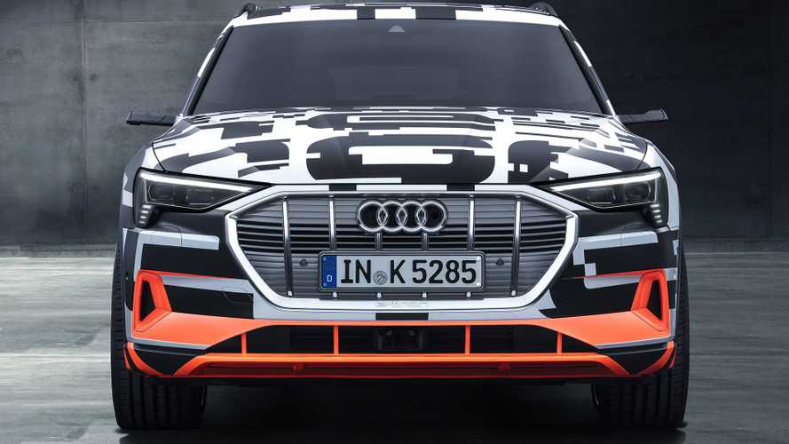 Audi E-Tron Prototypes Show Up In Geneva