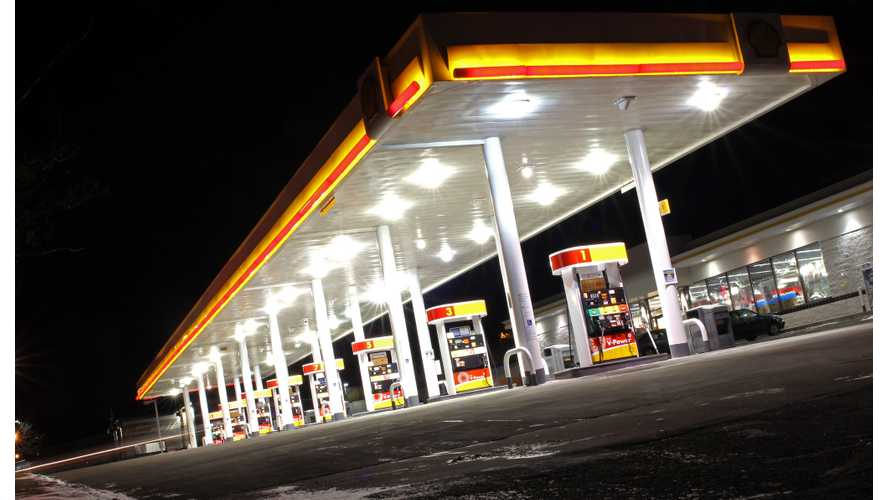 Shell Expands Plan For EV Chargers At Its Gas Stations