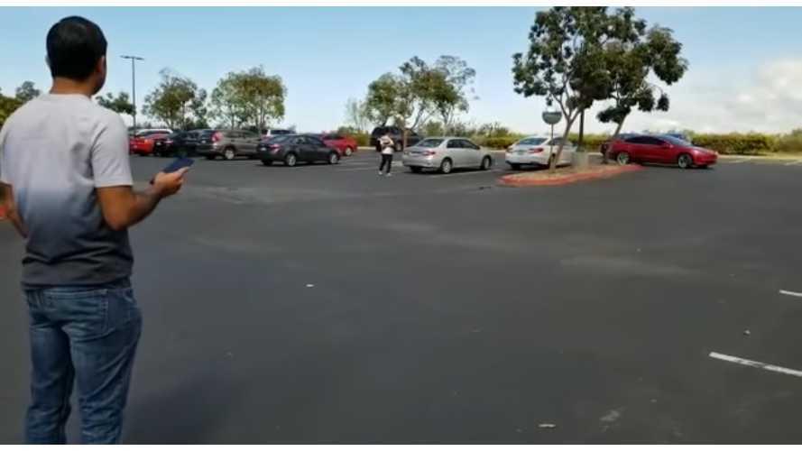Tesla Model 3 Enhanced Summon In Action: More Videos