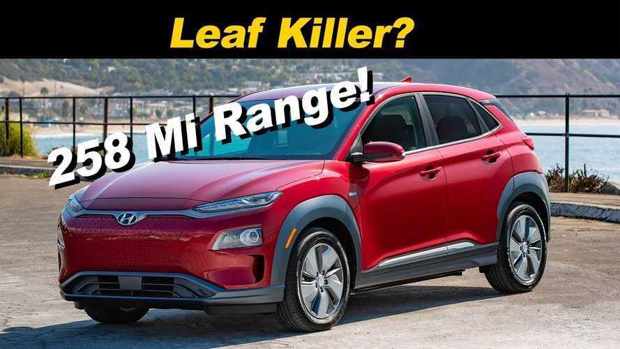 Hyundai Kona Electric Buries Chevy Bolt, Leaves Nissan Leaf