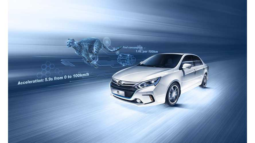 BYD Says Plug-In Hybrid Qin Would Be A Game Changer In The U.S.