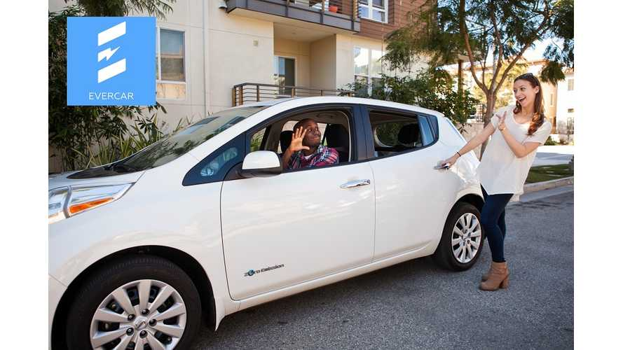 Drive For Uber Or Lyft In LA?  Now You Can Rent An EV For $5 An Hour via Evercar