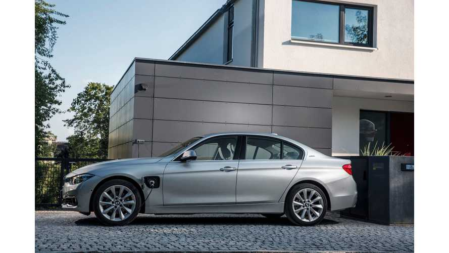 2016 BMW 330e Priced From $44,695 In U.S. + Live Show Pics