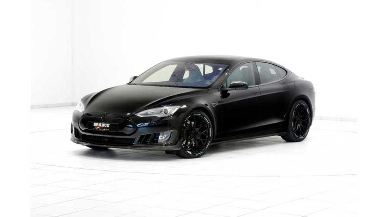 Brabus Presents In Geneva Another Refined Tesla Model S