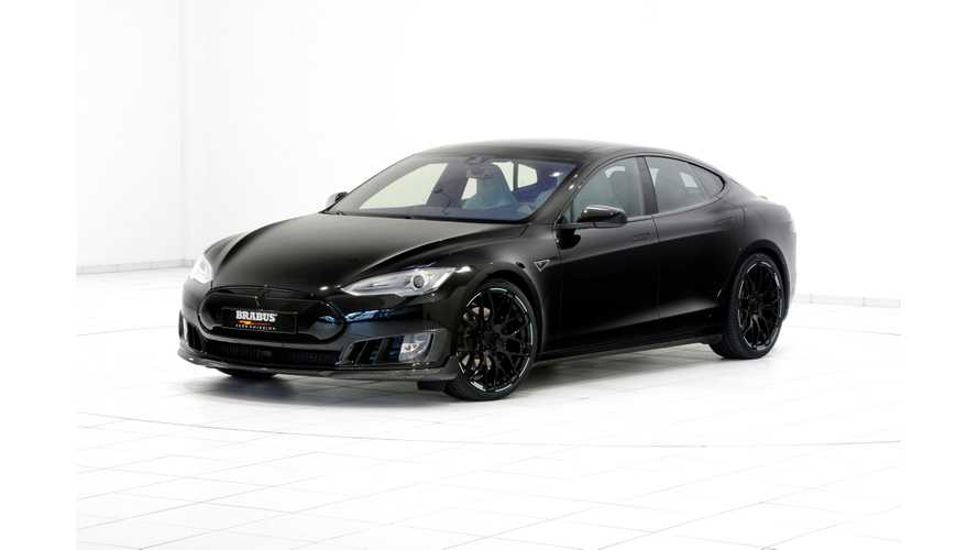 Brabus Presents In Geneva Another Refined Tesla Model S