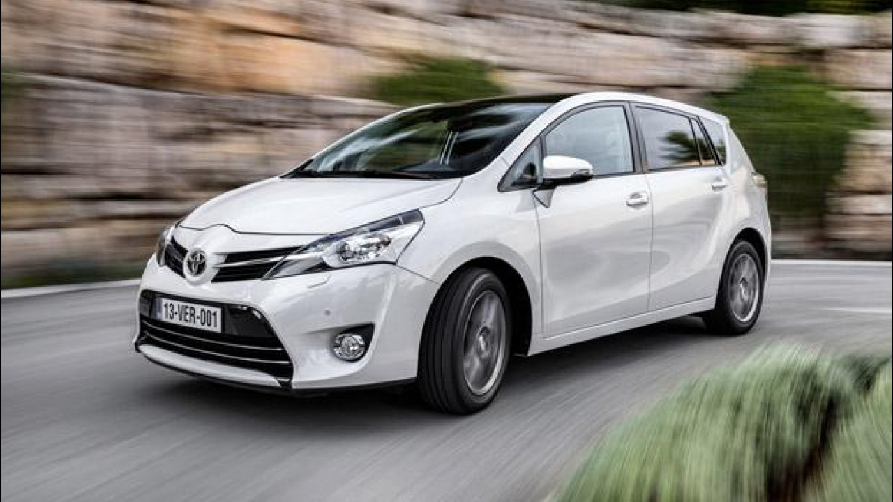 [Copertina] - Toyota Verso restyling, carattere europeo
