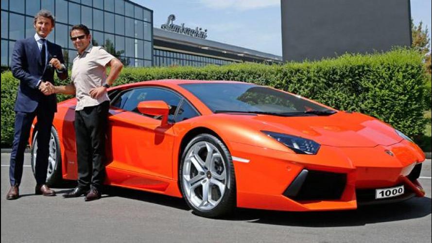 Lamborghini Aventador: la produzione raggiunge quota 1.000 esemplari