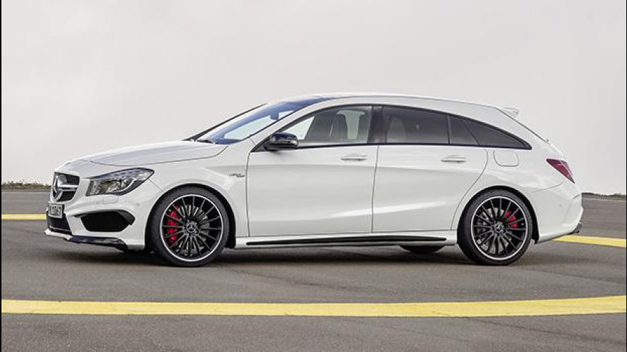 Mercedes CLA Shooting Brake, prezzi da 31.390 euro