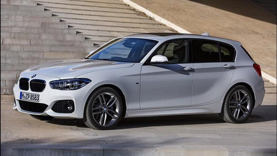 BMW Serie 1, faccia nuova e 3 cilindri