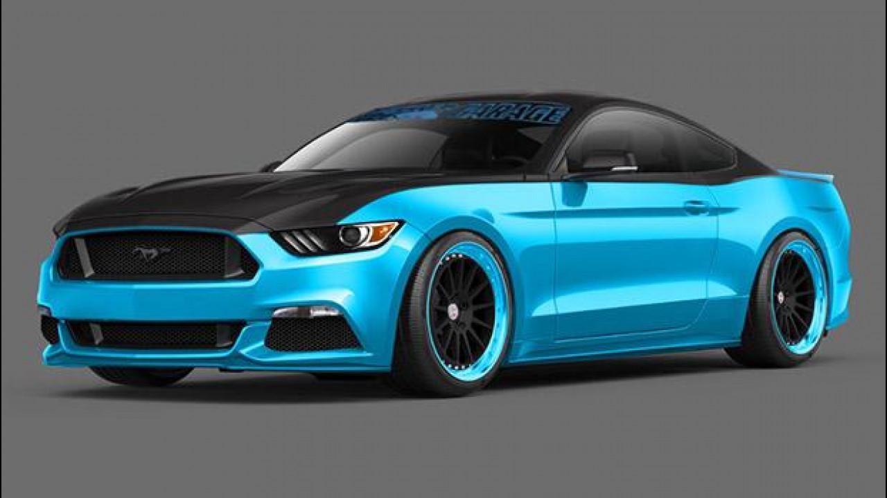 [Copertina] - Ford Mustang protagonista al SEMA di Las Vegas