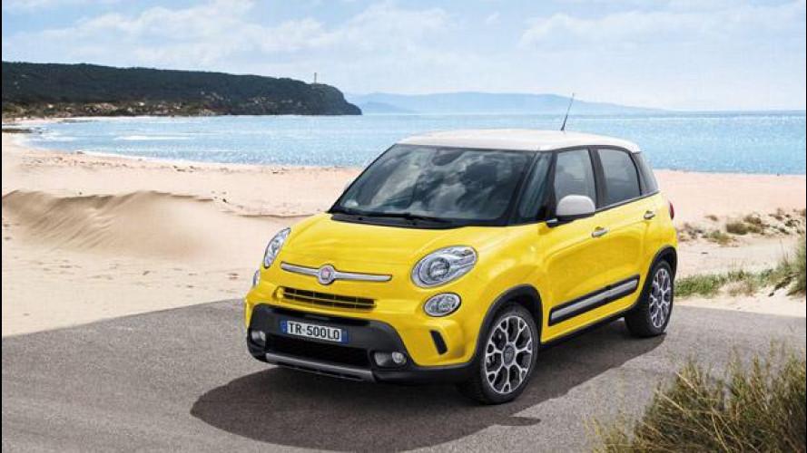 Fiat 500L Trekking, il listino prezzi parte da 19.650 euro