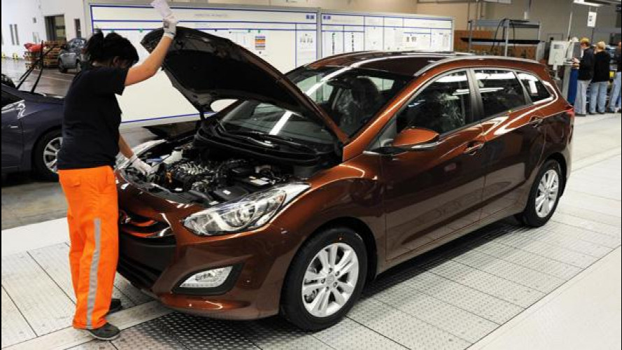 Nuova Hyundai i30: parte la produzione della Wagon