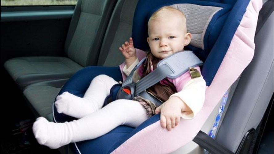 Spagna: giro di vite per tutelare i bimbi in auto
