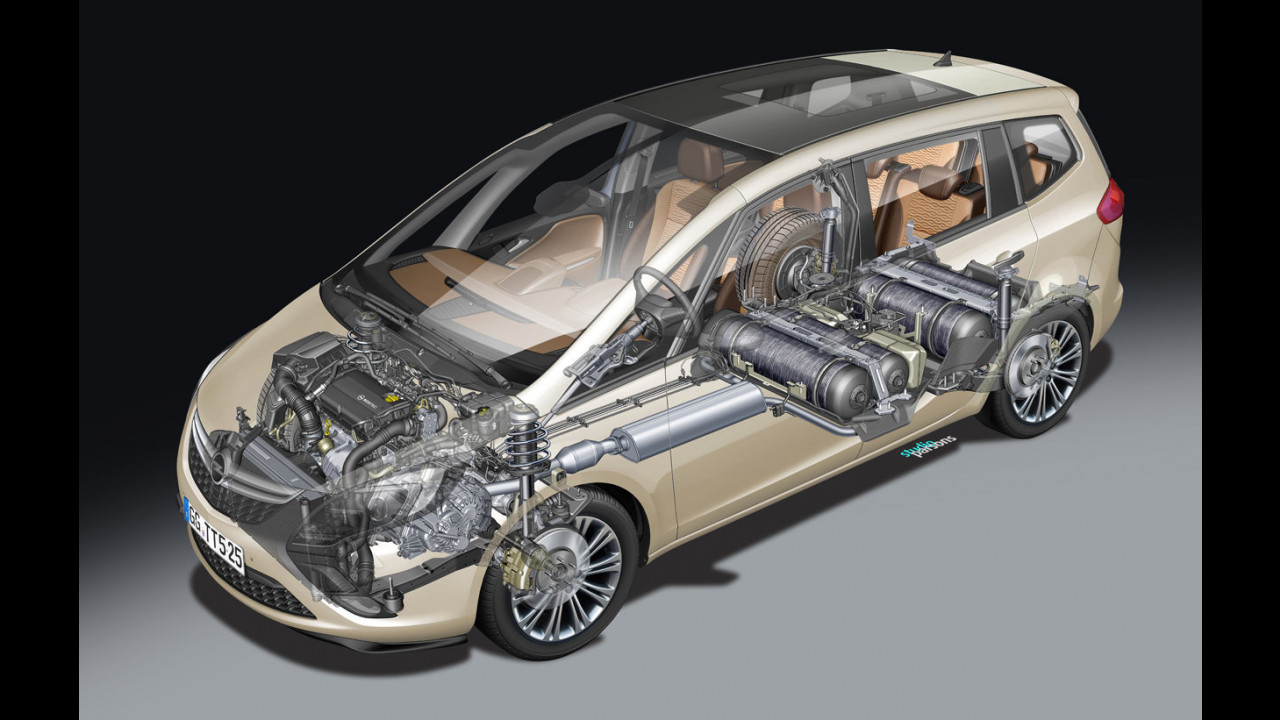 Opel Zafira Tourer 1 6 ecoM Turbo 2 di 4 | Foto Motor1 com
