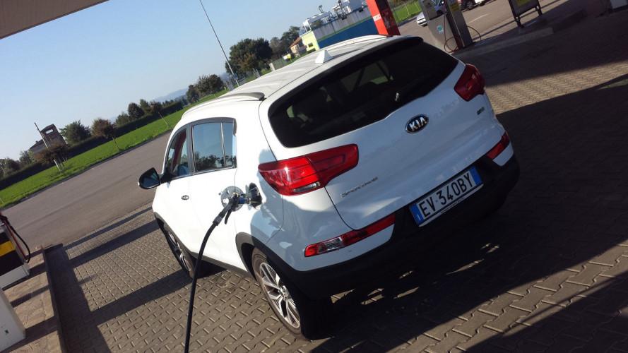 Kia Sportage Eco-GPL+, la prova dei consumi reali