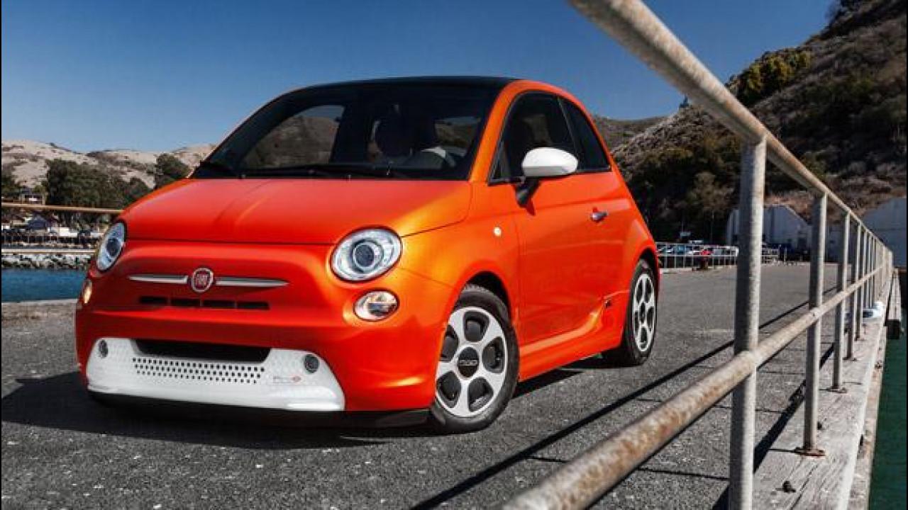 [Copertina] - Fiat 500 elettrica a Francoforte vs Volkswagen e-up!
