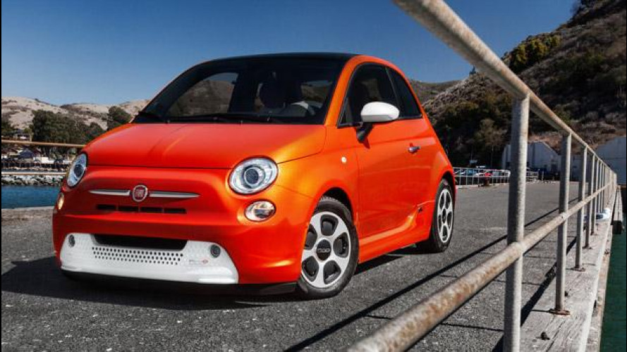 Fiat 500 elettrica a Francoforte vs Volkswagen e-up!