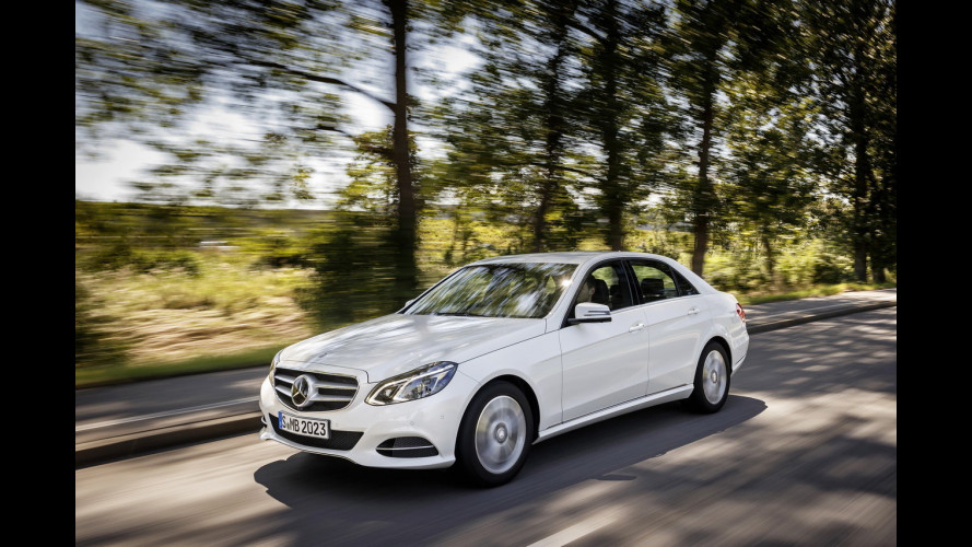 Mercedes E 200 Natural Gas Drive (NGD), ovvero a metano