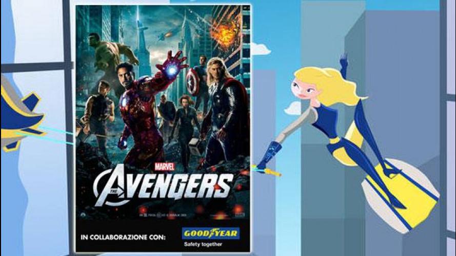 """La sicurezza stradale va al cinema con """"The Avengers"""""""