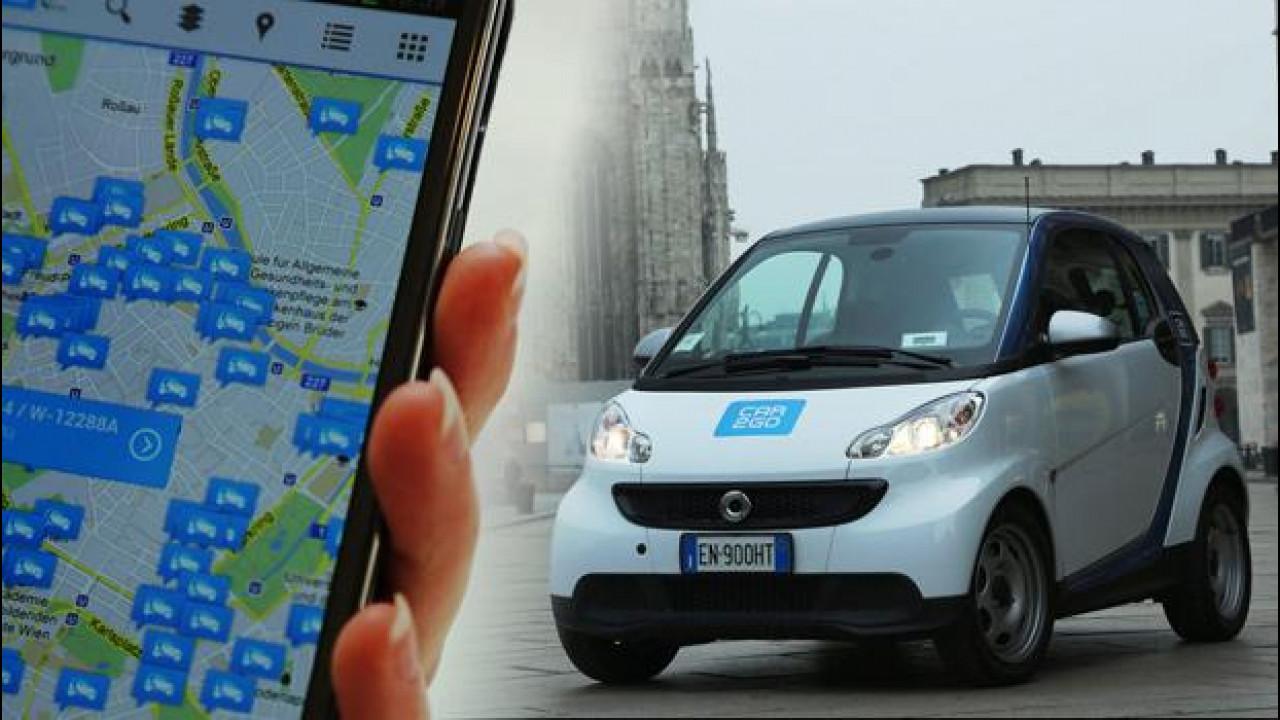 [Copertina] - Car sharing, adesso anche le auto car2go si aprono con lo smartphone